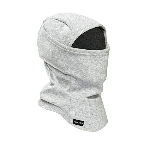 KOOLSOLY Sturmhaube-Skimaske , Warme und winddichte Fleece-Wintersportkappe für Männer, Frauen