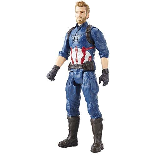 AVENGERS E1421EL2 'Marvel Infinity War Titan Hero Series Captain America con Titan Hero Power FX Port'