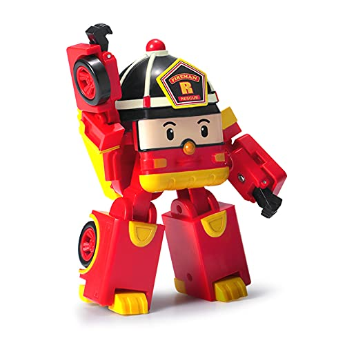Roy Robocar Poli Transforming Robot, 4' Tramsformable Action Toy Figure Discount