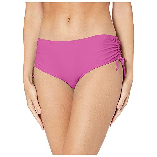 Zonary Damen Bikinihosen mit hoher Taille - Klassisch Einfarbig Badehose Bademode Thong Brasilianer Bikinihose Sexy Chic Tanga Bikini Bottoms - Sexy Unterwäsche Panties wesentliche Höschen