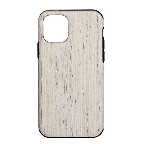 Xyamzhnn Caja Protectora de Madera de Textura de TPU for el iPhone 11 Pro MAX (Color : Nordic Walnut)