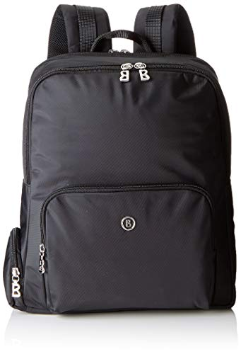 Bogner Damen Verbier Eik Backpack Svz Rucksack, Schwarz (Black), 12x36x30 cm