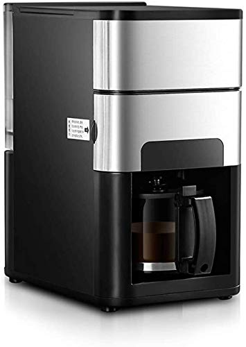 Wyyggnb Coffee Machine, Espresso Machines Home Office Automatic Coffee Grinder, Stainless Steel Programmable, Silent Operation, Anti-drip Setting, Coffee Maker and Filter
