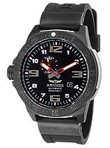 HÆMMER Navy Diver II | Black Ocean | Herren Automatikuhr aus Edelstahl | Exklusiv Limitierte Taucher-Uhr mit FKM Kautschuk Armband | Wasserdicht bis 300m | Kratzfestes Saphirglas