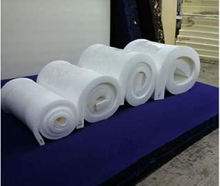 Premium Medium High Density Cushion replacement / Upholstery Foam 2.8 lb Density 82