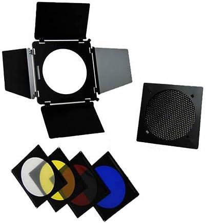B-Ware walimex pro Abschirmklappen//Waben//Farbfilter Vorsatzset