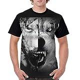 andrea walker Beartooth Aggressive Shirt Men's Novelty Short Sleeve Round Neck Baseball T Shirts Tops