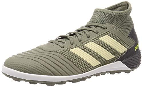 adidas Predator 19.3 TF, Zapatillas de Fútbol para Hombre, Multicolor (legacy green/sand/solar yellow EF8210) , 44 EU