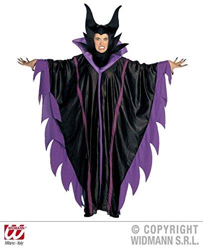 Widmann s.r.l. Damen-Kostüm MALEFIZENT - Böse Fee - LILA, Größe:M