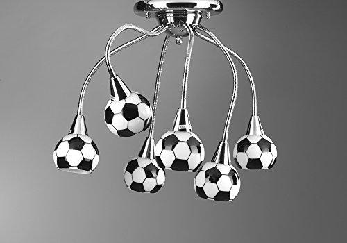 Onli Flex plafondlamp E14, zwart/wit, 75 cm x h 35 cm