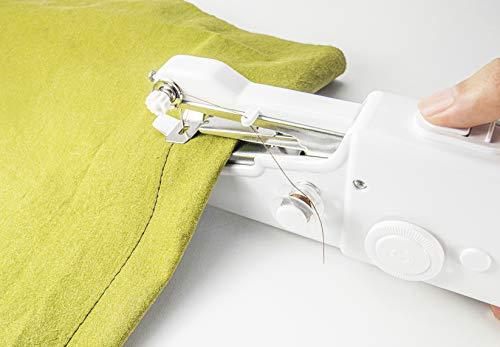 JOCCA Máquina de coser portátil de mano, Blanco, 2285