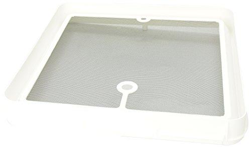 Heng 's jrp1124r Radius Ecke Bildschirm für Jensen Dach Vents–Weiß