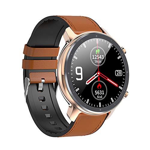 ZYD 2020 L17 Smart Watch Männer EKG PPG Herzfrequenzmonitor 360 * 360 IP68 wasserdichte Anruf Abweisen Sport Smart Watch PK L16 L13 L11,A6