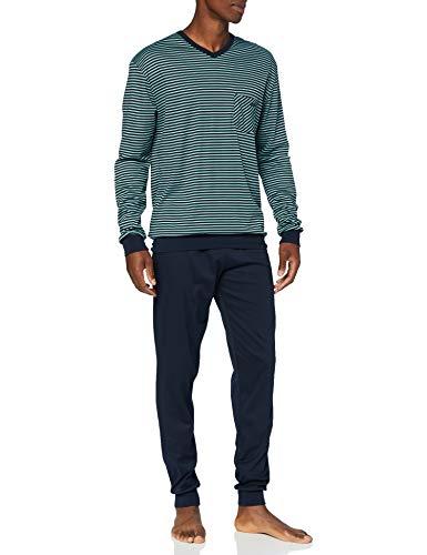 CALIDA Herren Relax Streamline 2 Pyjamaset, Laurel, L