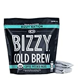 Bizzy Organic Cold Brew Coffee | Specialty Rotating Blend | Coarse Ground Coffee | Pitcher Packs | 4...