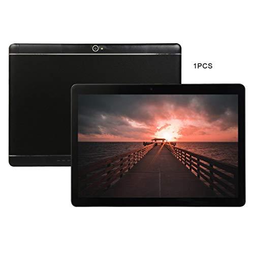 KT107 Plastic Tablet 10,1 Zoll HD Großbild Android 8.10 Version Fashion Portable Tablet 1 GB + 16 GB Schwarz Tablet
