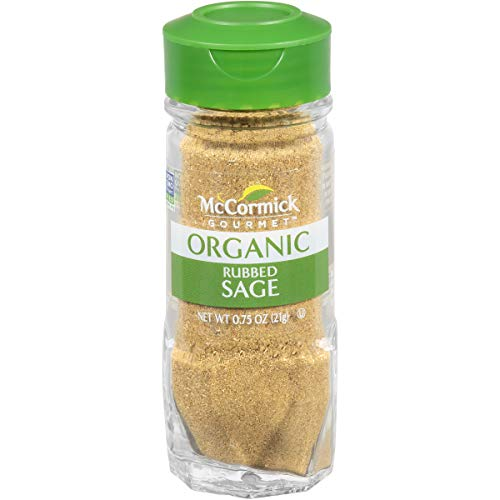 McCormick Gourmet Organic Rubbed Sage, 0.75 oz