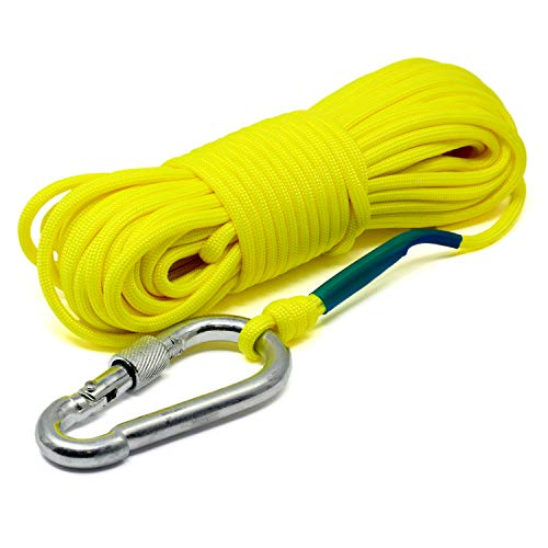 Magnet Fishing Rope 550 LB for Strong Fishing Neodymium Magnets -...