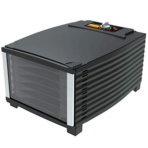 Read About Food Fruit Vegetable and Meat Electric Dehydrator,with Temperature Controller,Household a...