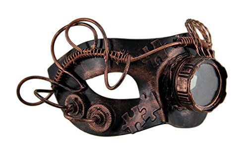 steampunk goggles with magnifier