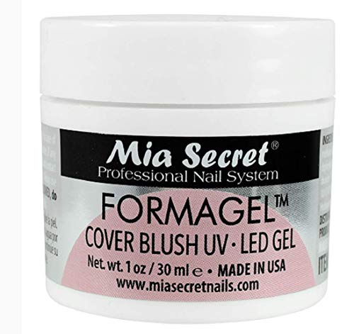Mia Secret Nudes 1oz Formagel Gel Nail Builder - UV Led Gel - Cover Blush - Cover Tan - Candy Pink Pick Yours (Cover Blush)