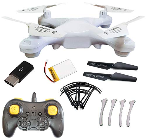 SUPER TOY RC Drone Without Camera - 2.4GHz 6 Axis Gyro 3D Flip Quadcopter