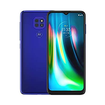 Motorola Moto G9 Play   Unlocked   International GSM Only   4/64GB   48MP Camera   2020   Sapphire Blue   NOT Compatible with Sprint or Verizon
