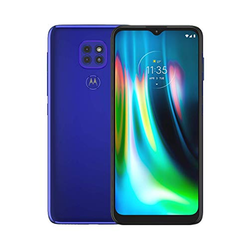 Motorola Moto G9 Play | Unlocked | International GSM Only | 4 64GB | 48MP Camera | 2020 | Sapphire Blue | NOT Compatible with Sprint or Verizon