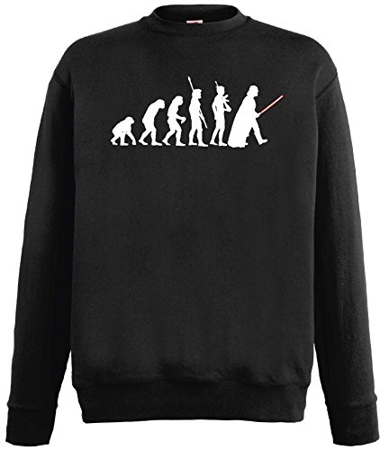 Star Wars Herren Sweatshirt Evolution Darth Vader PulliM