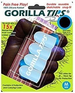 Gorilla Tips Fingertip Protectors Clear Medium