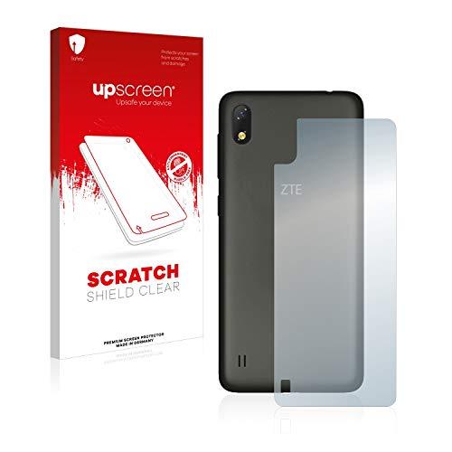 upscreen Schutzfolie kompatibel mit ZTE Blade A530 (Rückseite) – Kristallklar, Kratzschutz, Anti-Fingerprint