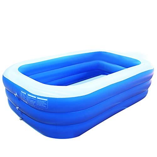 Btruely Swim Center Family Pool - Kinder Aufstellpool - Planschbecken Aufblasbare Pool, Aufblasbare Badewanne, Babypool Familienpool Schwimmingpool Kinderplanschbecken