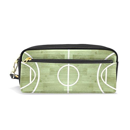 BENNIGIRY - Estuche escolar de baloncesto para niños, gran capacidad, para bolígrafos, con bolsa de papelería duradera