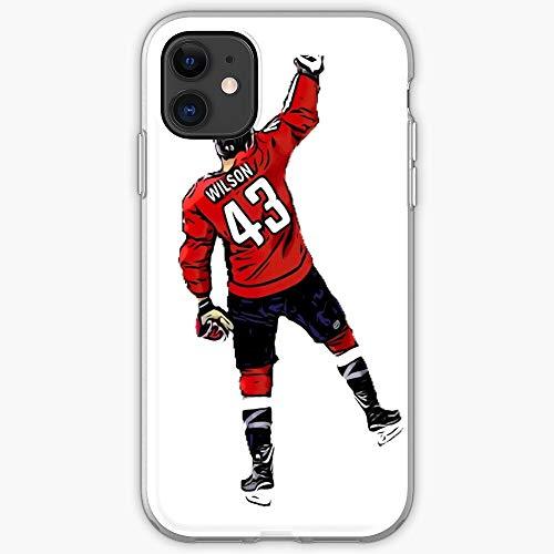 Tom District Wilson 43 Hockey Caps Dc Capitals Einzigartiges Design Snap/Glass Phone Case Cover fur iPhone, Samsung, Huawei - TPU Stoßfester Innenschutz