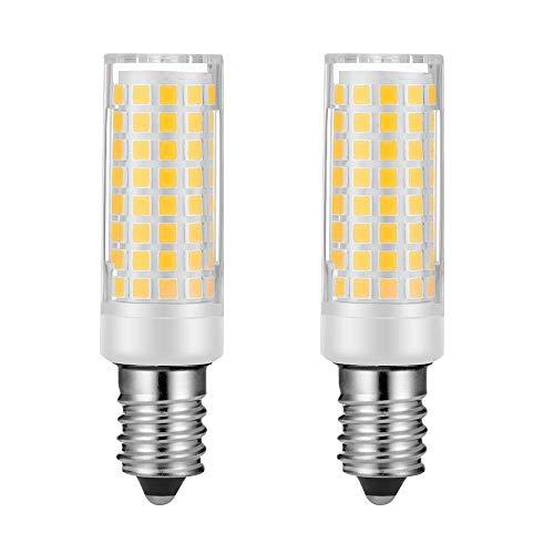 Repuesto de bombillas de sal E14 de luz blanca cálida equivalente a 60 W, bombilla incandescente E14, base europea, filamento en forma...