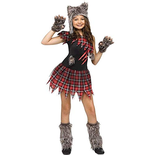 Fun World Wild Wolfie Girl Kids Costume