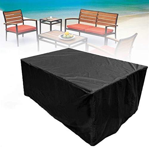STZYY Fundas Grandes para Muebles de jardín, Antipolvo, Impermeables Fundas para mesas de Patio Resistentes a los Rayos UV 420D Sofá para Exteriores, Mesa, Funda Protectora para sillas, fácil de i