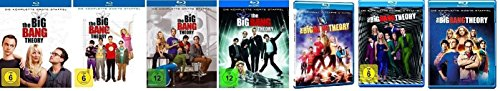 Blu-ray Set * The Big Bang Theory Staffel/Season 1+2+3+4+5+6+7
