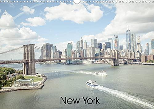 New York (Wandkalender 2022 DIN A3 quer)