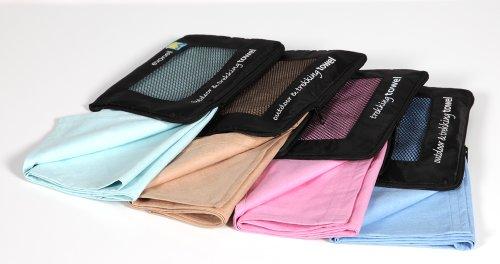 Sport und Freizeithandtuch / Towel / Microfasertuch / Microfaserhandtuch - 100g/m²