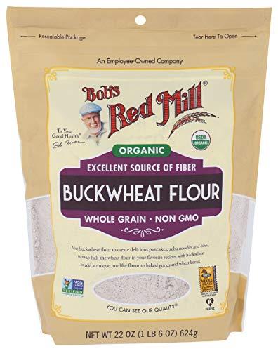 Bobs Red Mill, Organic Buckwheat Flour, 22 Ounce
