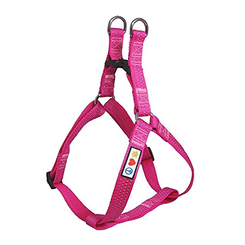 Pawtitas Pet Soft Adjustable Step-In Reflective Puppy / Dog Harness...
