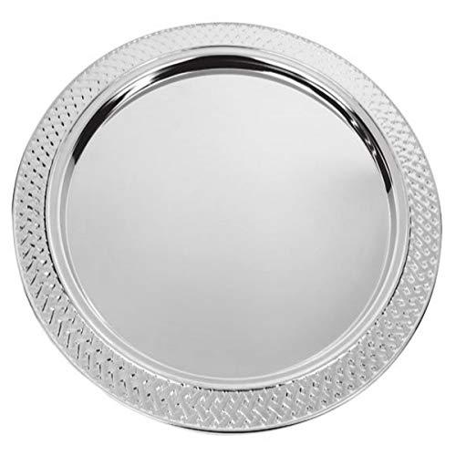 silberkanne Platzteller Hamburg D 31 cm Silber Plated Premium versilbert