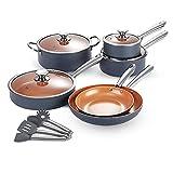 Best Pots And Pans Sets - KUTIME Cookware Set 14pcs Non-Sick Pots and Pans Review
