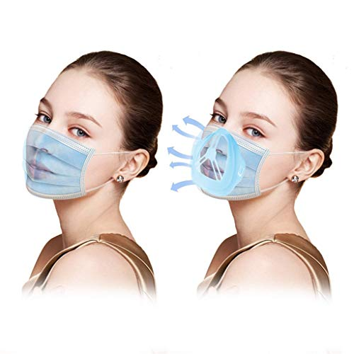 (10 Pcs) 3D Face_mask Bracket Create More Breathing Space Inner Support Frame Bracket Protect Makeup and Stick Lipstick