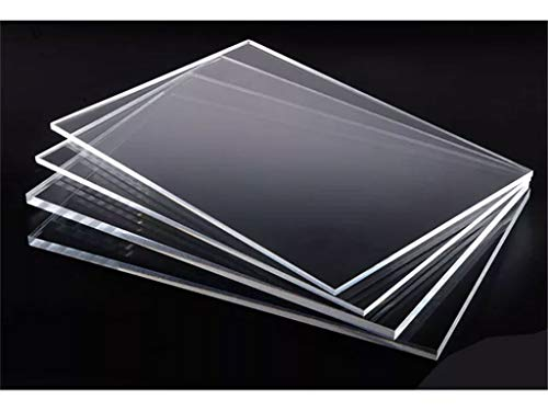 3mm Clear Acrylic Plastic Safety Sheet for Shed Windows Many Sizes Avail 610mm x 457mm (2ft x 18in) (610mm x 610mm)