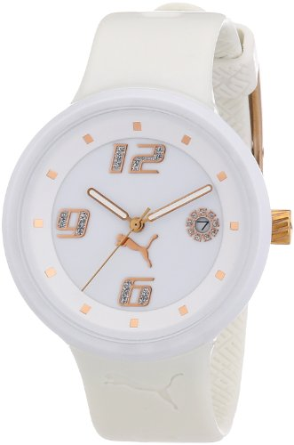 Puma Time Motorsport Damenuhr SLICK LADIES 3HD WHITE A.PU910672002