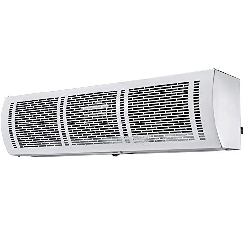 """VBENLEM Air Curtain 40"""", 2 Speeds Commercial Indoor Air Curtain, UL Certified, CE Certified, 1667 CFM Air Volume with 2 Easy-Install Micro Switch(Limit Switch), 110V Unheated"""