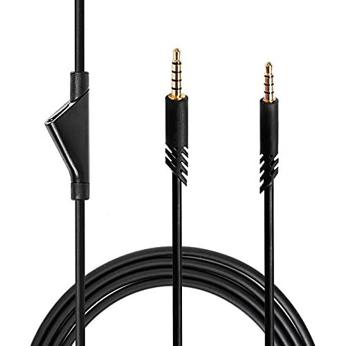 Ersatz Kabel für Astro A10 A40 A30 A50 / Logitech G233 G433 Gaming Headset mit Stummschalt Funktion - 3,5mm Buchse Kabel für Xbox One/PS4 Controller