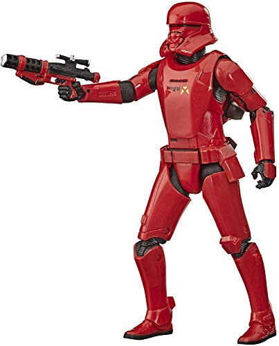Star Wars The Black Series Sith Jet Trooper Toy 6-inch Scale The Rise of Skywalker Collectible Action Figure, Kids Ages 4 and Up